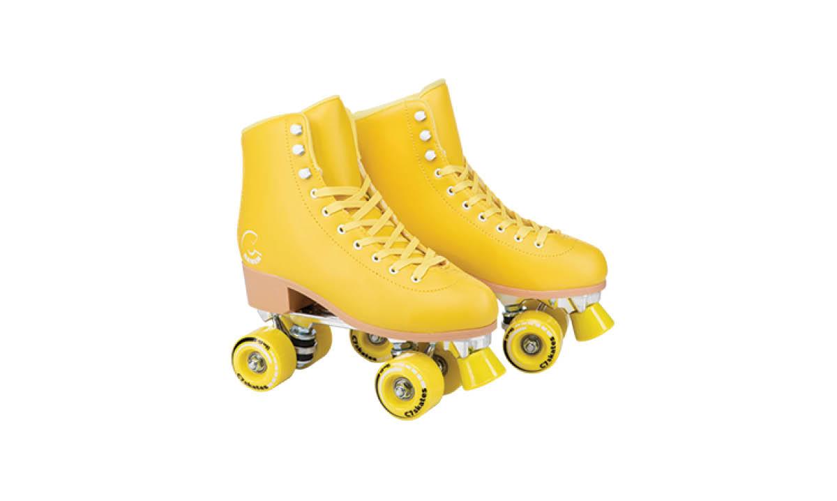 Pantone Illuminating Ideas - Lemonpop Quad Skates by C7